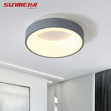 Nordic LED Ceiling Lights For Bedroom Kitchen Post Modern Lighting Ceiling Lamp Dimmable With Remote Creative Living room Light modern nordic led ceiling light fixture colorfull metal lampshade creative ceiling lamp for restaurant kitchen bedroom lighting