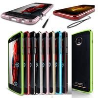 For Motorola Moto Z2 Play XT1710 Bumper Luxury Metal Aluminum Bumper Frame Case Cover For Motorola