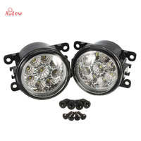 2Pcs Hight Power LED Side Fog Light Lamp Assembly For Acura Honda Ford Focus Subaru Jaguar