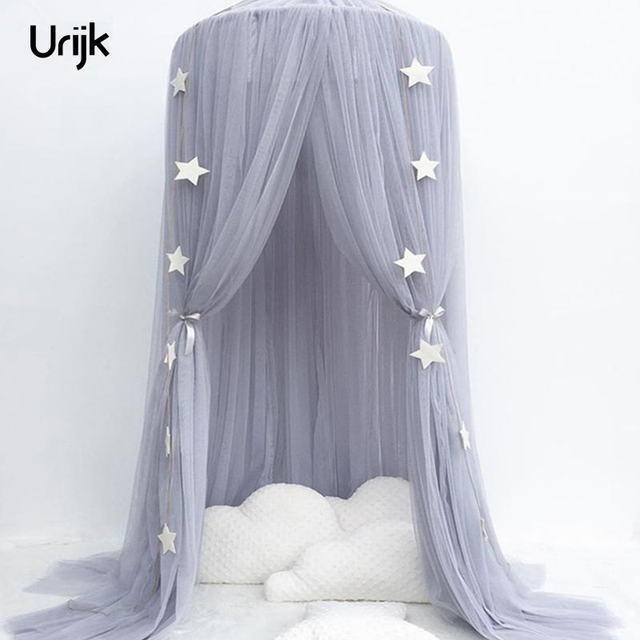 Urijk Net Baby Crib Tents Bed Curtain Hung Dome Mosquito Net Kids Girls Hanging Mosquito Net & Urijk Net Baby Crib Tents Bed Curtain Hung Dome Mosquito Net Kids ...