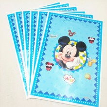6pcs Mickey Mouse Kid Boy Girl Baby Happy Birthday Party Decoration Kits Supplies Favors Loot Bag Gift birthday party suppli
