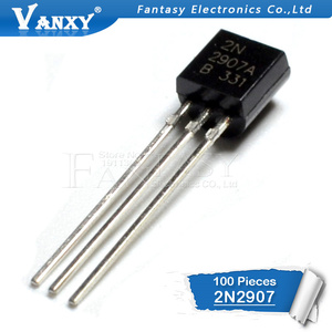 Image 2 - 100PCS 2N2907 TO 92 2N2907A TO92 new 2907 triode transistor
