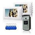 Metal Door Intercom Systems Home 7 Inch TFT LCD Monitor Color Video Door Phone Intercom System IR Outdoor Camera Doorphone