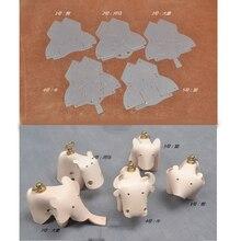 Шитье шаблон ПВХ шаблон Сделай Сам Кожа Шитье шаблон ПВХ шаблон кожаное ремесло изготовление 5 животных стиль