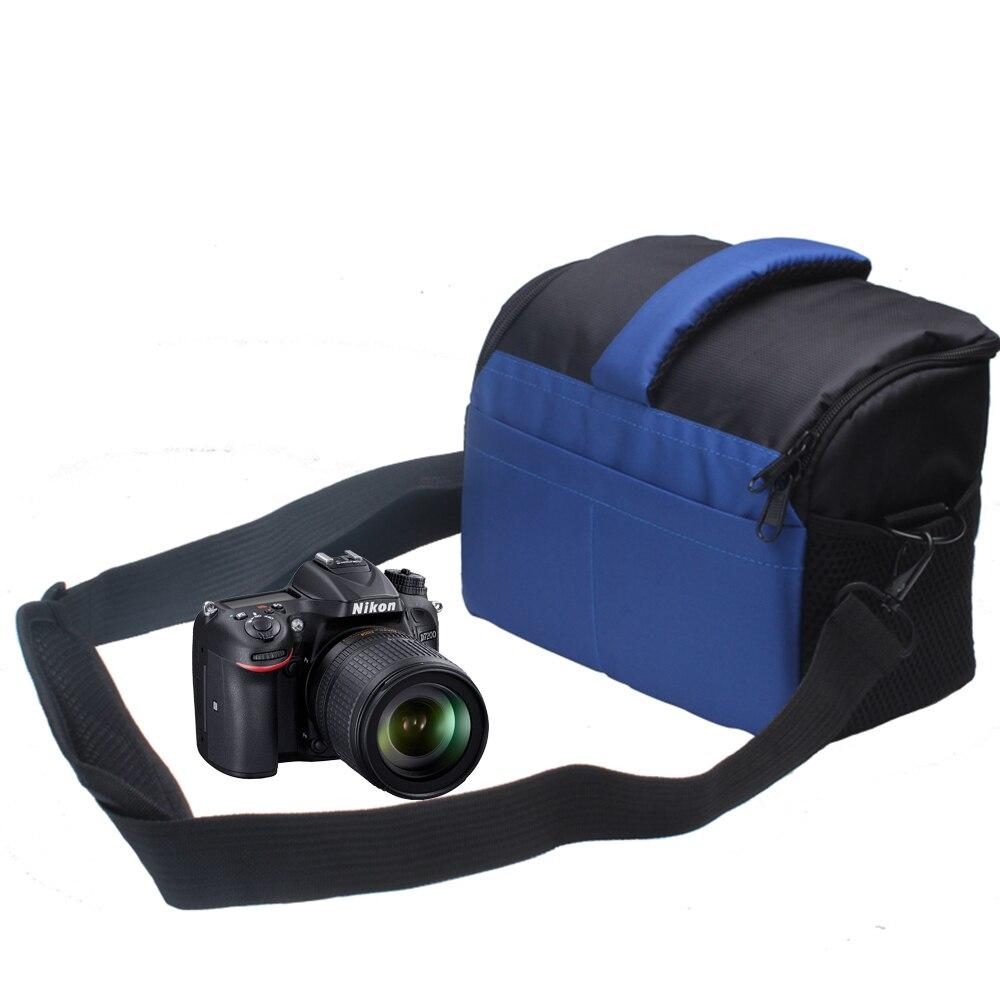 DSLR Camera Bag Vidéo Épaule Photo Cas pour Nikon B700 D3200 D3100 D5200 D5300 D5500 D3300 D5100 D7200 D7100 D7000 D750 D810