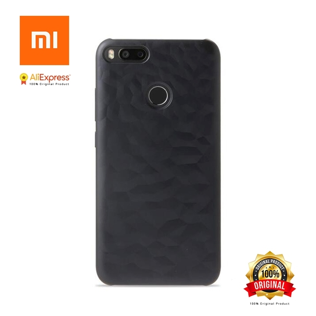 wholesale dealer f67d6 74b49 Xiaomi Mi A1 Mi 5X New Original Case Bumper Screen Protector Film PET for  Mi 5x(Mi a1) Plastic Color Changes When Light Abstract