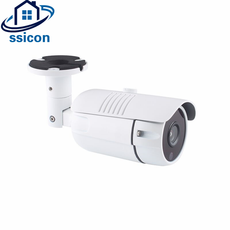 SSICON 36Pcs Leds IR Distance 30M 4MP Bullet Analog Camera AHD Waterproof 3.6mm lens Metal Housing Security Camera Outdoor wistino cctv camera metal housing outdoor use waterproof bullet casing for ip camera hot sale white color cover case
