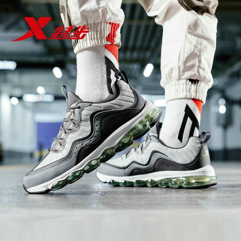 Купить с кэшбэком Xtep AIR MEGA Men Running Shoes Sneakers Athletic Sports Sneakers Breathable Air Sole Men Running Shoes 881119119287