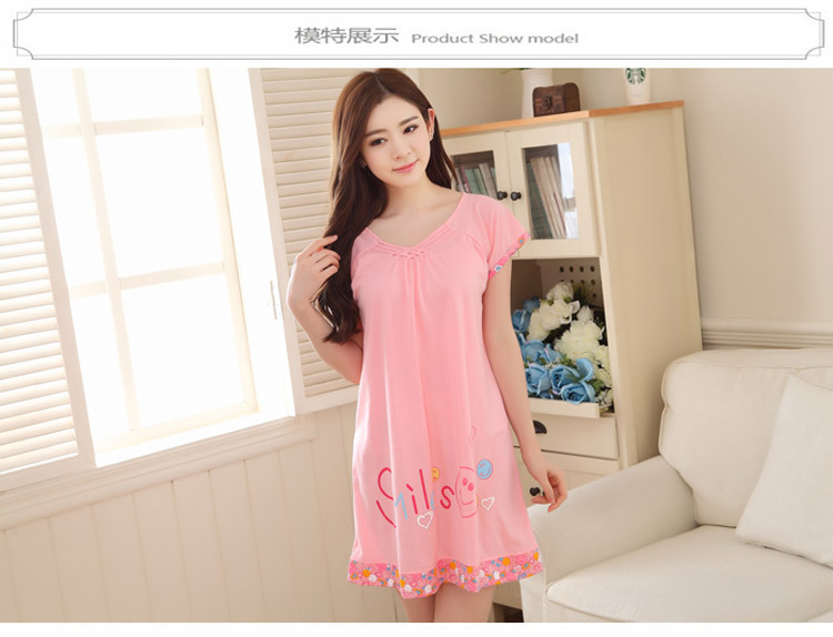 2cb999822a The new summer clothes Home Furnishing large cotton short sleeved ...