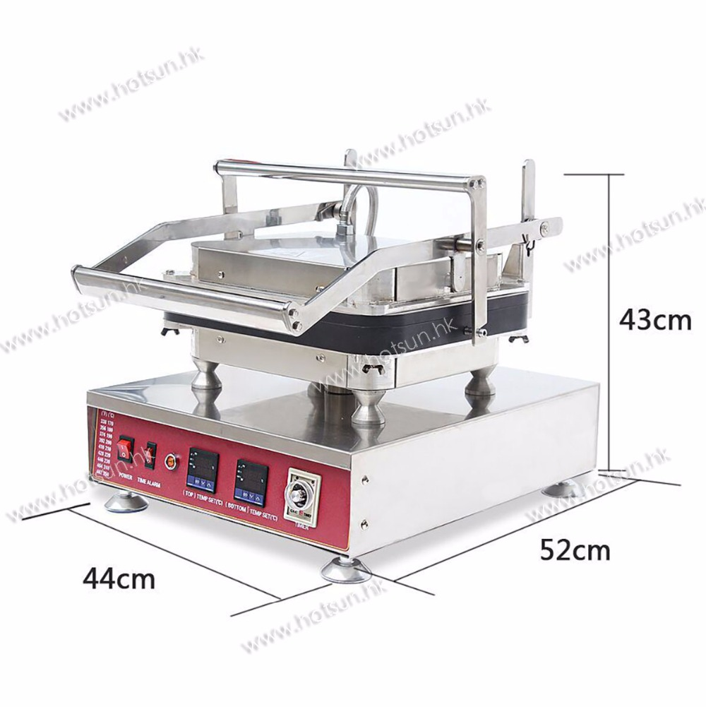 #304 Stainless Steel 110V 220V Electric 30pcs Tarlet Waffle Corn Bowl Maker Machine with Removable Plate