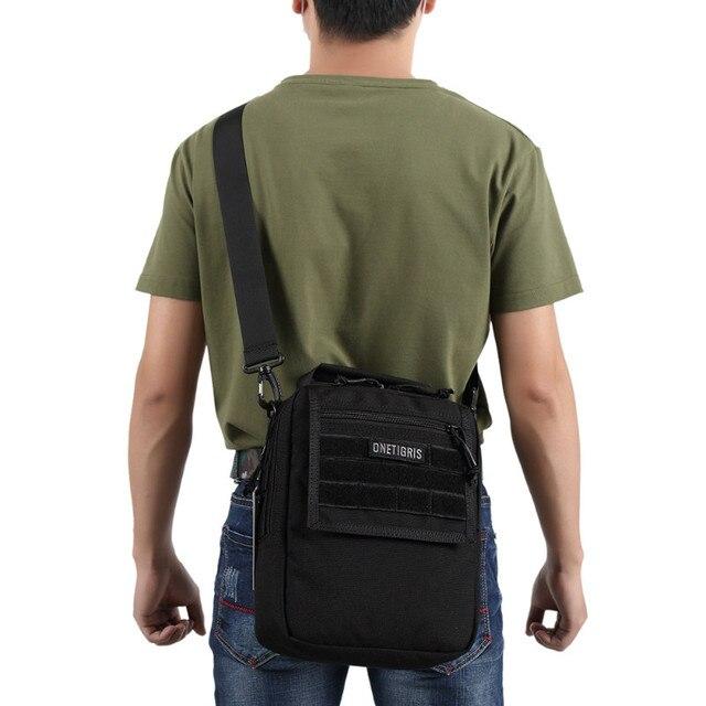 Onetigris 1000d Nylon Shoulder Bag Sling Pack Molle Handbag Men S Messenger Edc For Sports Travel
