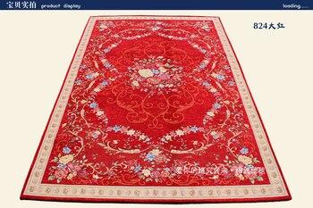 Dongsheng carpet fashion chenille jacquard carpet mats doormat mat slip-resistant pad