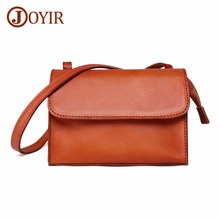 JOYIR Crossbody Bags For Women Genuine Leather Messenger Fashion Shoulder Bag Female Casual Handbags Bolsa Feminina