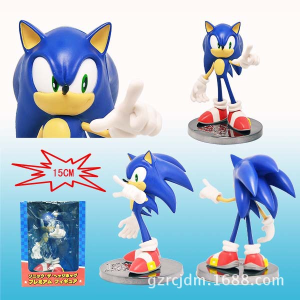 Free Shipping Sonic the Hedgehog SEGA SONIC 20th Anniversary Edition 7 PVC Action Figure Collection Model Toy 15cm KT3665 mary pope osborne magic tree house 20th anniversary edition dinosaurs before dark