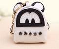 2016 nuevo diseño moda estilo coreano remache monedero mini lindo de la historieta del bolso dominante cremallera de metal estrella de cierre accesorio carpeta