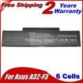 Bateria do portátil para Asus A9 F2 F2F F2J F3 F3E F3F F3H F3J F3L F3P F3Q F3U F3T F3SA 90-NIA1B1000 A32-F3 90-NI11B1000
