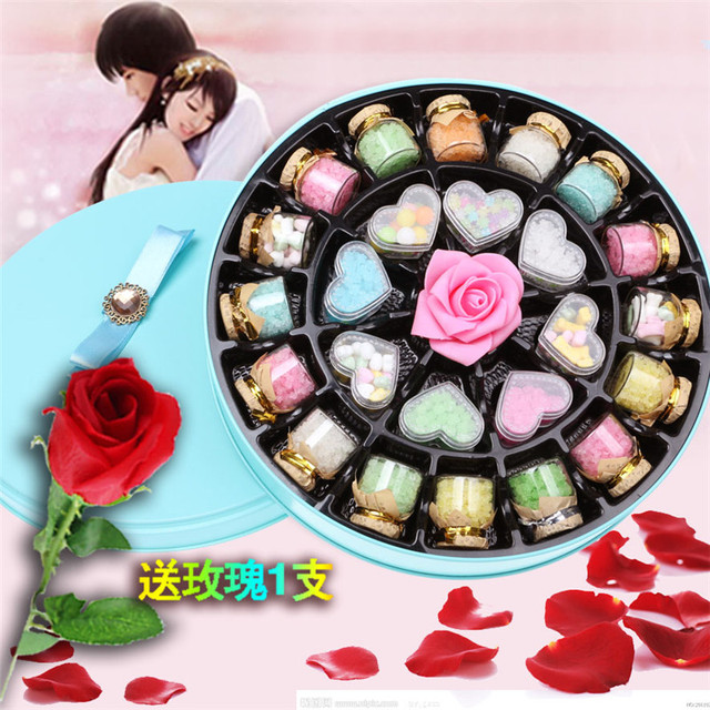 400g Chinese Candy Gift Box Wishing Bottle Candy Birthday Gift For