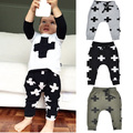 boys pants cross kids harem pants fashion casual boy trousers cartoon children sports pants gray black green baby clothes