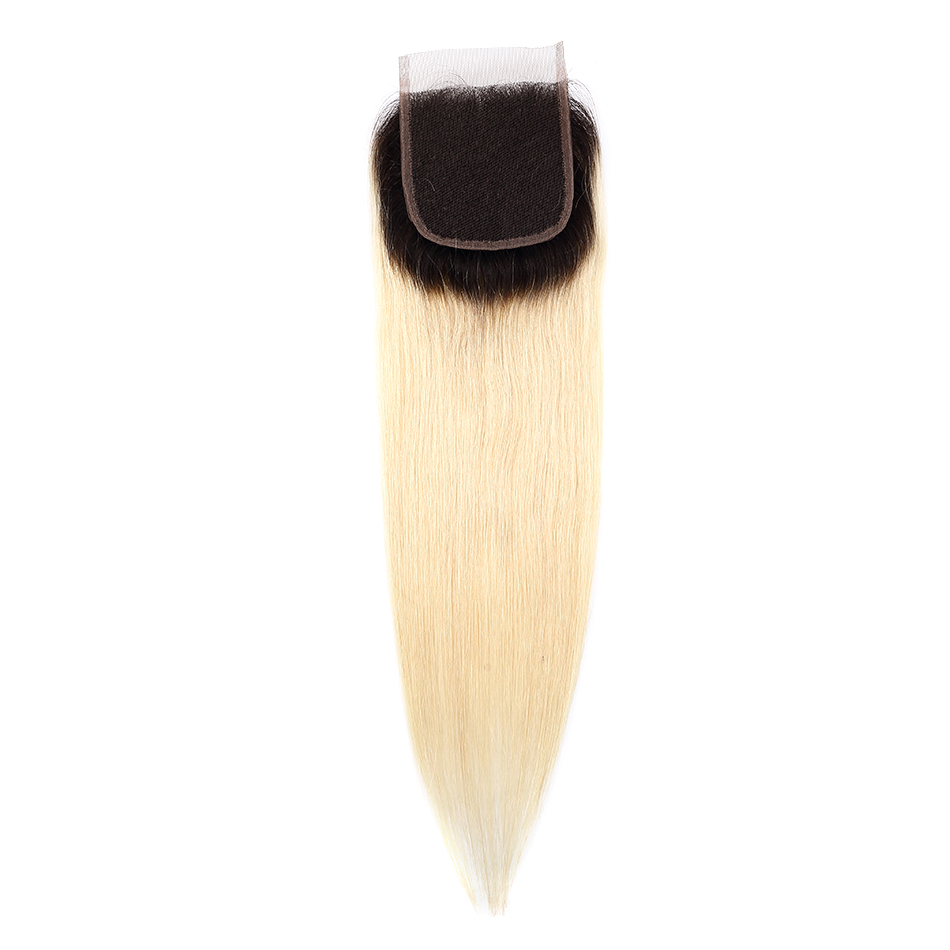 Wigirl-Hair-Straight-Ombre-Lace-Closure-1b-613-Color-Brazilian-Remy-Human-Hair-4x4inch-Closures-With