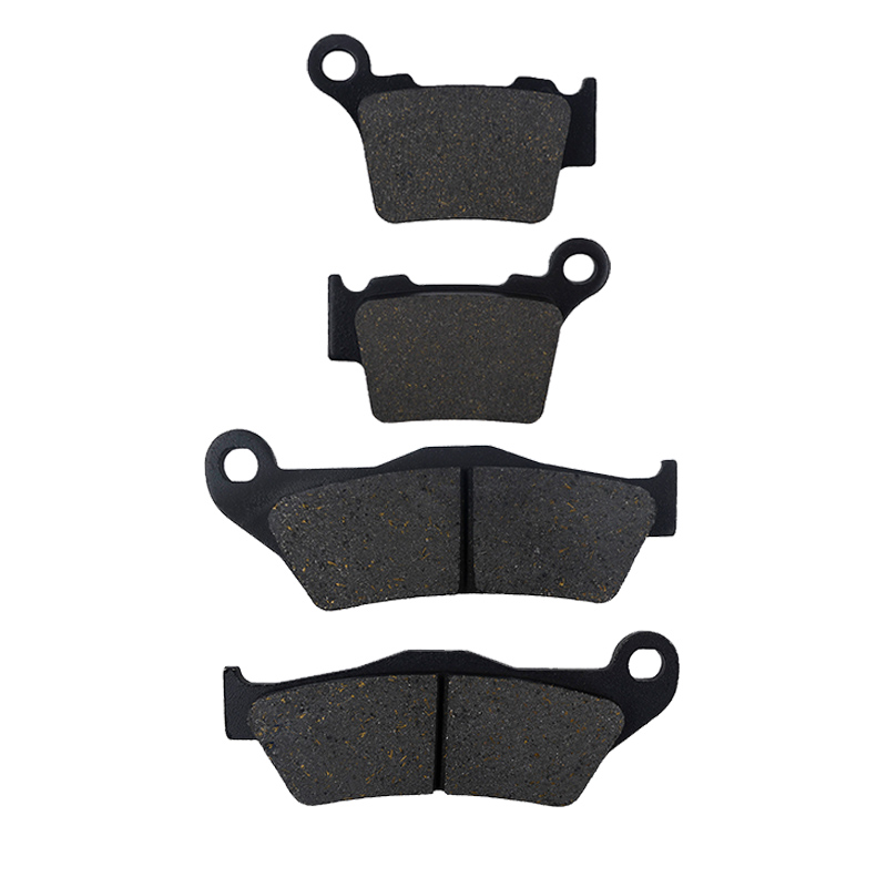 1 Set AHL Motorcycle Front And Rear Brake Pads For KTM XC EXC 400 / 450 / 525 2004-2007 EXC 500 (12-16) Black Brake Disc Pad lucia tucci потолочная люстра lucia tucci lugo 142 3 r40 white