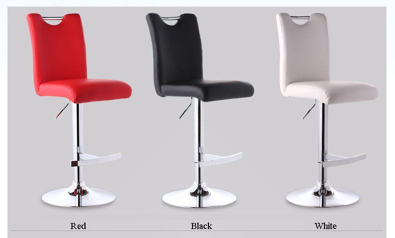 office lift chair tea coffee stool green red white black color PC shop chair free shipping hair salon stool ...
