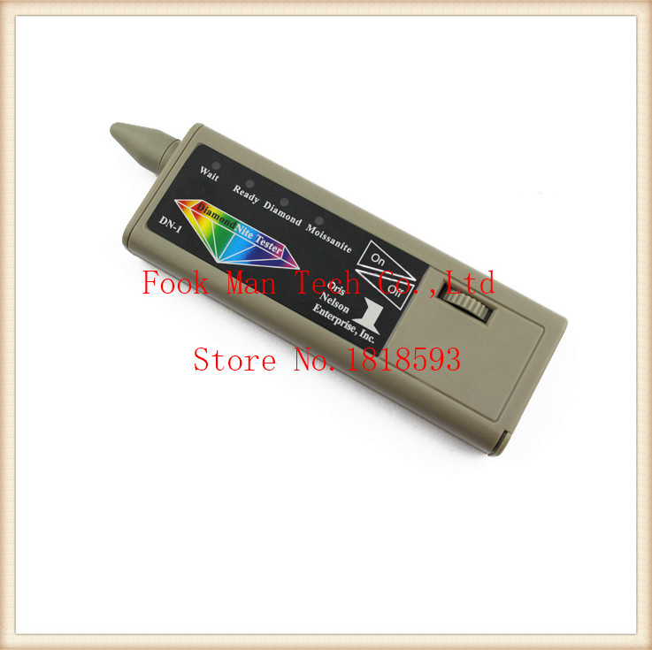 New 2-in-1 Dual Diamond & moissanite Tester,multi diamond tester,moissanie picker,diamond selector detective цена