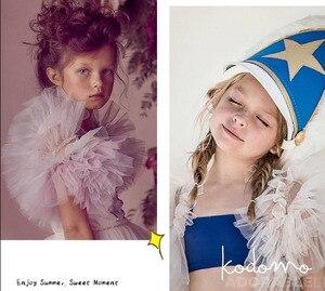 Image 5 - Chaleco de niña para vestido de fiesta de boda, tutú suave, capa de princesa para niños, 80 140cm, E81229