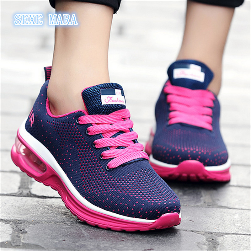 2017 Size 36-44 Flywire Running shoes for women Sneakers women Arena shoes air Outdoor Sport shoes woman Athletic Walking p57