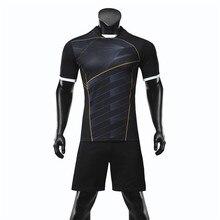 Men Soccer Jersey Sets Survetement font b Football b font Uniforms Set Survetement Homme font b