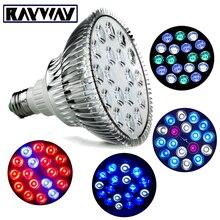RAYWAY Full Spectrum E27 LED grow light Bulb ultraviolet lamp for Plants Hydroponics Par38 coral reefs LED Aquarium Replace Bulb