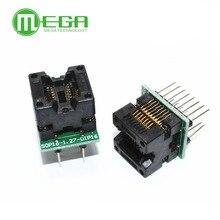 SOP16 à DIP16 SOP16 tourner DIP16 SOIC16 à DIP16 IC socket programmeur adaptateur prise 150mil