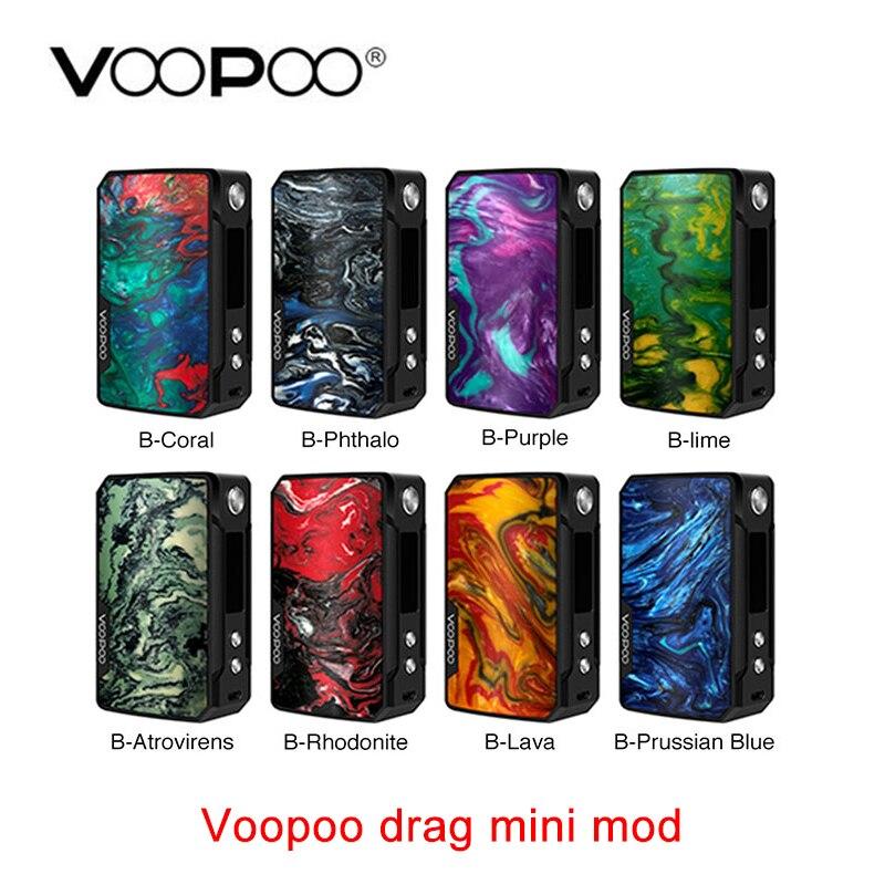 Nouveau VOOPOO glisser Mini MOD 117 W avec batterie 4400 mAh et innover gène. FIT puce e-cig Vape boîte Mod VS glisser 157 w shogun mod