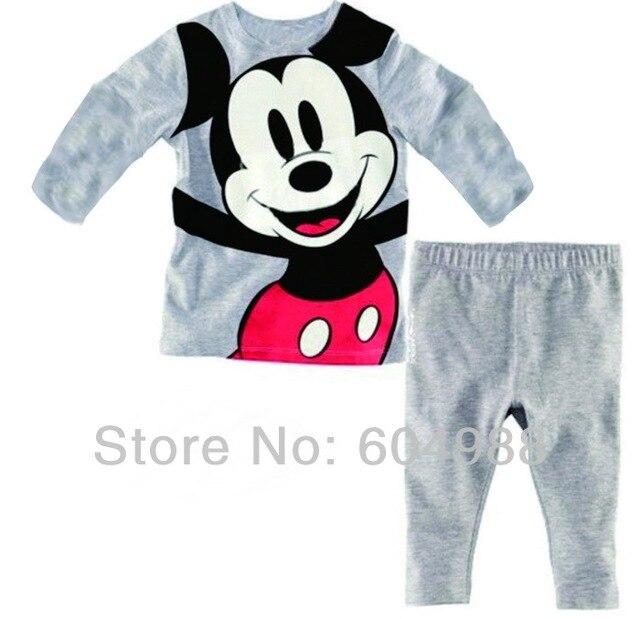 Baby Pajamas suits Baby Sleepwear suits Shirts + pants Kids long sleeve Underwears sets