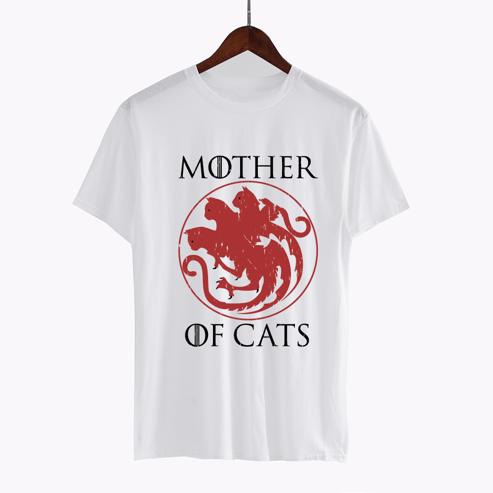 Mother of Cats Plus Size T-Shirt