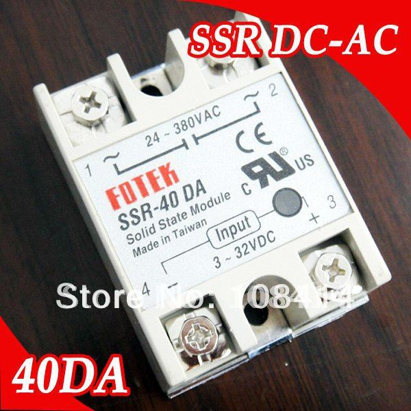 Free shipping industrial fotek solid state relay ssr 40a with free shipping industrial fotek solid state relay ssr 40a with protective flag sciox Gallery