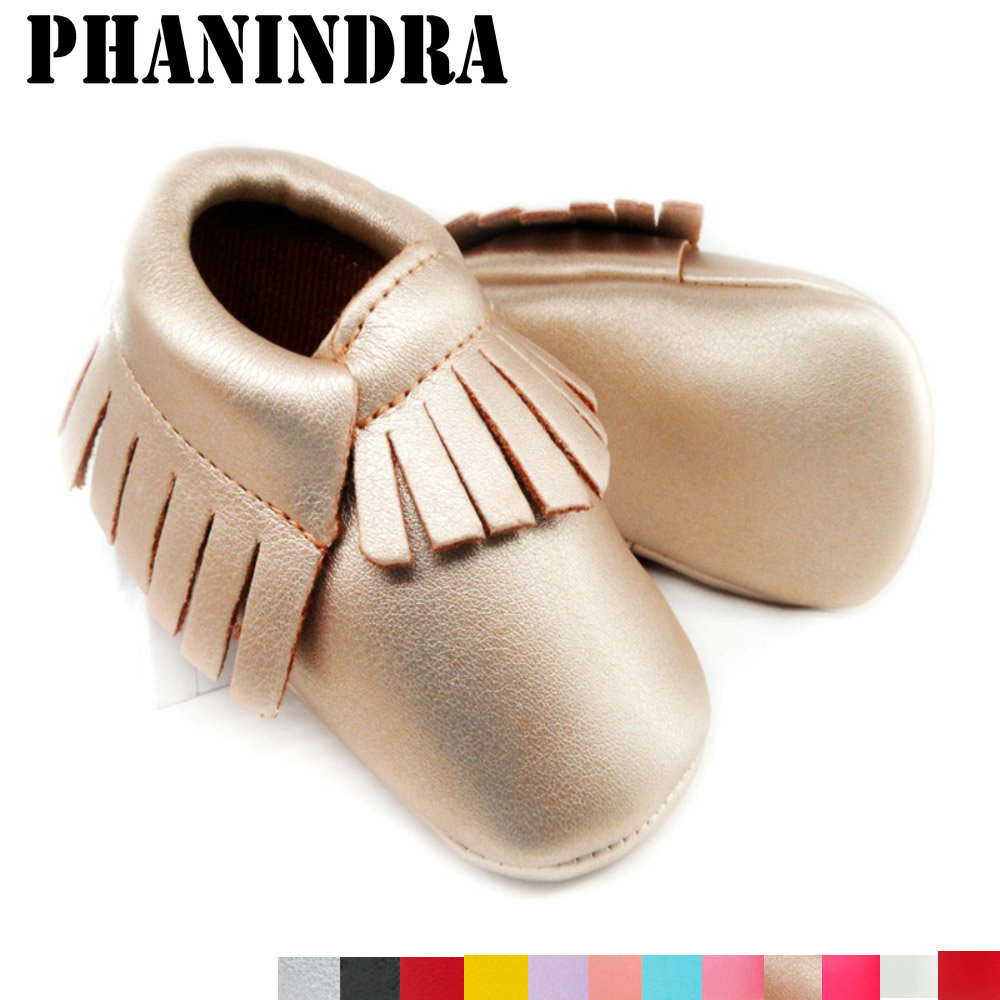 newborn Baby Moccasins Soft Moccs Baby Shoes girls fringe first walker Anti-slip pu Leather princess Infant boys footwear citilux бра citilux аттика cl416321