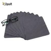Zipsoft 10 шт./20 штук/40 шт. очиститель чистой линзы очков ткань салфетки для солнцезащитных очков микрофибры протирки очков 15*18 см новые
