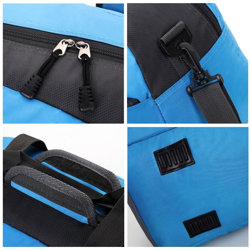 Top Nylon Waterproof Professional Sports Gym Bag Women Men Fitness Training  Shoulder Bag Travel yoga Handbag Luggage Duffel Bag  f59c066b56f26