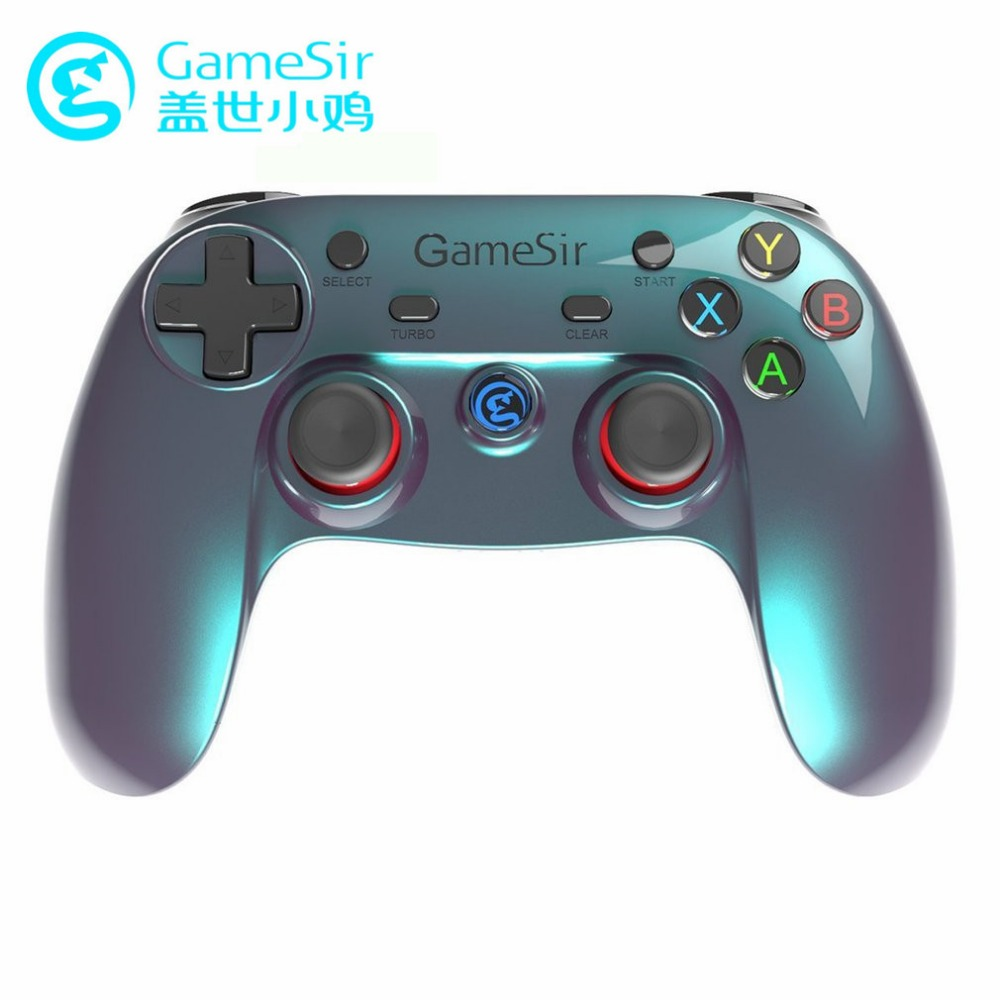 GameSir G3v Wireless Bluetooth Controller Smart Phone Vibration 2.4G Gampad For Android TV BOX Joystick VR Game Pad For PC Gamer