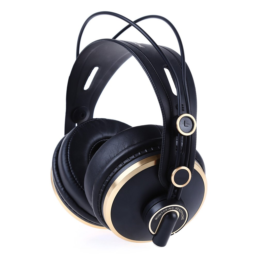 ISK HD9999 Fully Enclosed Monitor Headset Earphone for HIFI Music DJ/audio Mixing Recording Studio Comfortable Headphones brand isk mdh9000 professional hifi hd monitor headphone fully closed type for computer recording monitoring headset