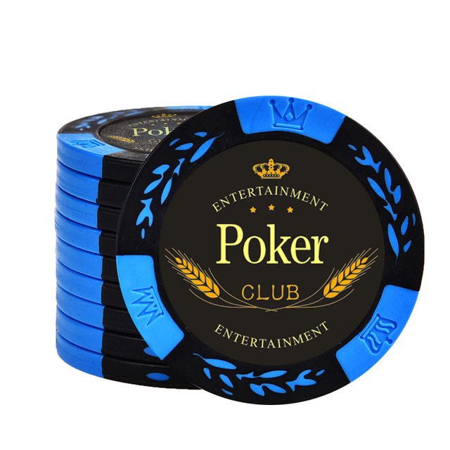 20 pçs/lote chips de poker 14g argila/ferro sem valor chips trigo texas holdem poker atacado