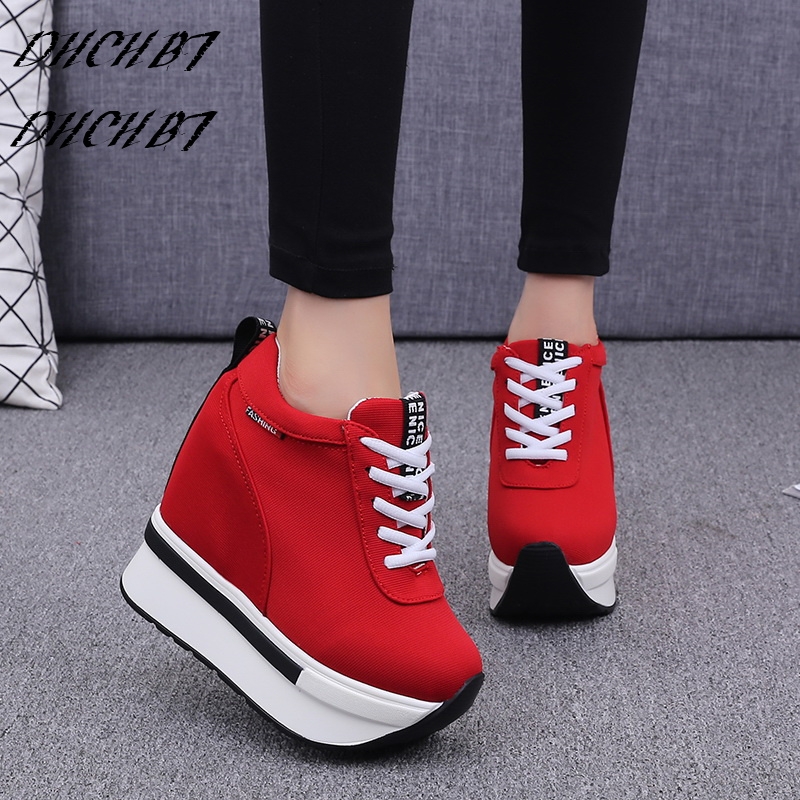 Mujer Zapatos Mocasines Altos Casuales Cuñas 02 Creciente Altura Zapatillas 10 Cm 04 Tacones De 03 01 Plataforma x5qEIv0
