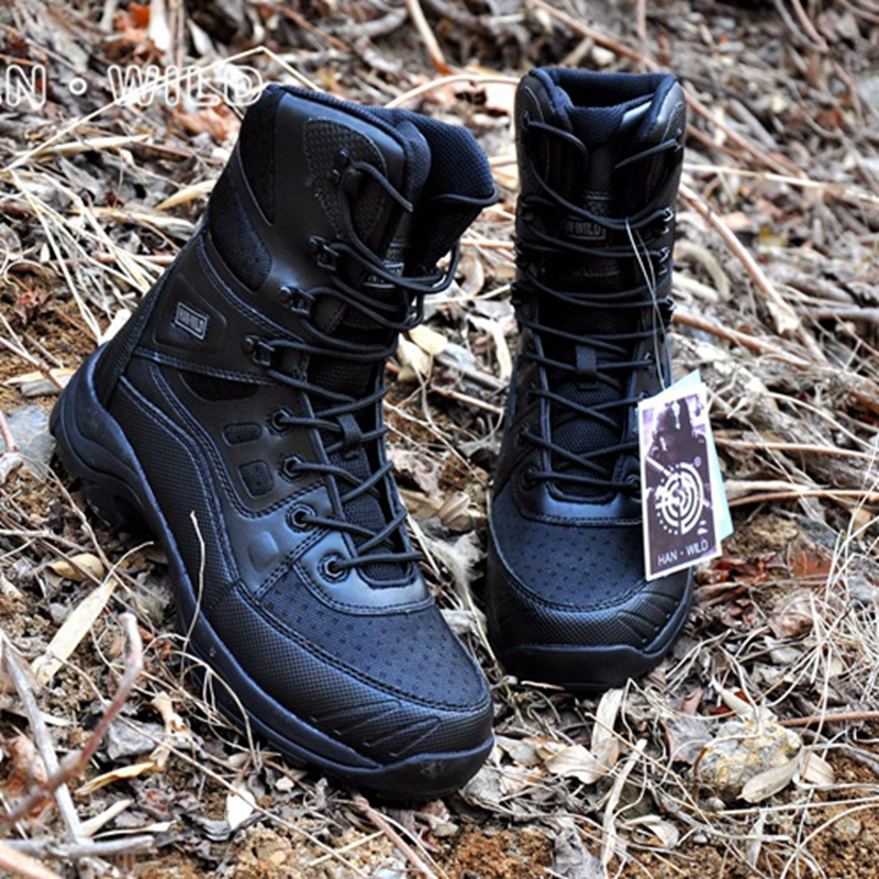Autumn Men Military Boots Quality Special Force Tactical Desert Combat Ankle Boats Army Hiking Shoes Leather tactical Boots все цены