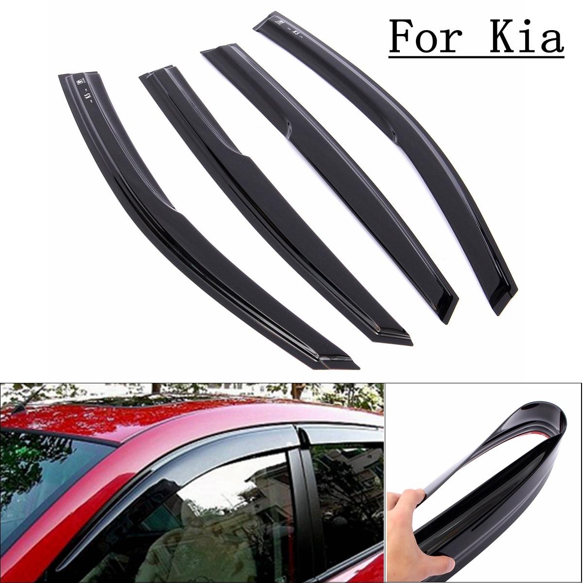 For 2011-2015 Kia Optima K5 Window Visor Wind Deflector Rain Sun Guard Vent