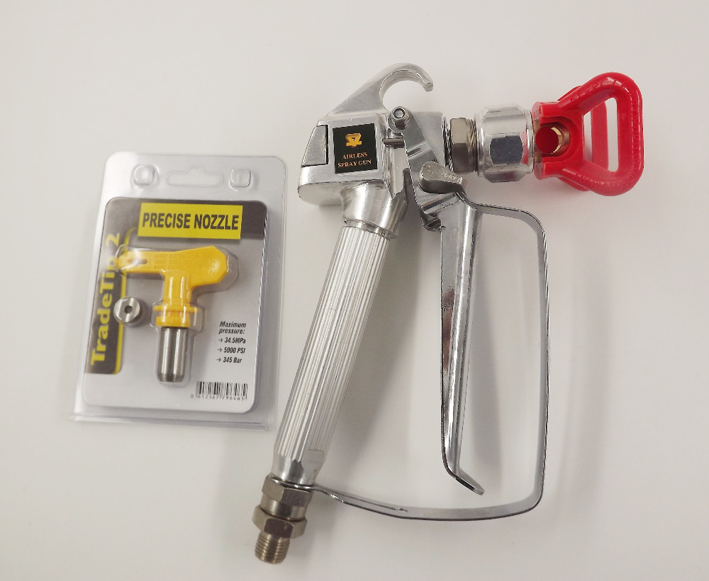 Hot Selling 3600 PSI Airless Spray Gun for Graco TItan Wagner Paint Sprayers With Spray Tip 517 high quality 3600 psi airless spray gun for graco titan wagner paint sprayers with spray tip best price