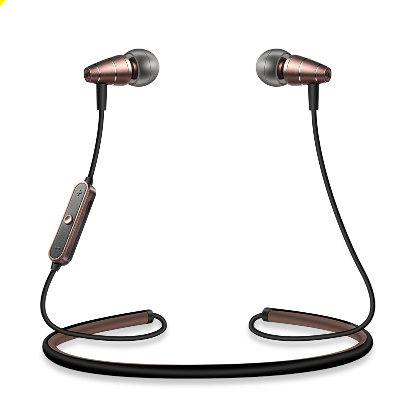ABAY 780 Metal Magnetic Bluetooth Earphone Neckband Sports Wireless Headphone Headset Ba ...