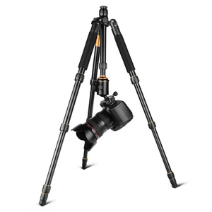 Image 3 - QZSD Q666 Professional Magnesium Aluminium Alloy Camera Tripod & Monopod For Cameras DSLR