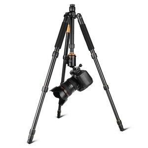 Image 3 - QZSD Q666 Professionale di Magnesio Lega di Alluminio Treppiedi di Macchina Fotografica e Monopiede Per Fotocamere DSLR