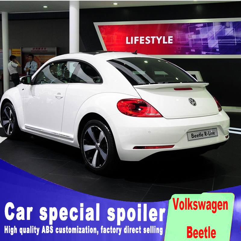 primer or balck white colors painted new design ABS 2013 to 2018 up year Car Rear Trunk Spoiler Wing For vw Volkswagen Beetle primer or balck white colors painted new design ABS 2013 to 2018 up year Car Rear Trunk Spoiler Wing For vw Volkswagen Beetle