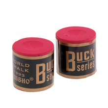 1 Box of 2 Blocks Snooker Pool Cue Tip Table Billiard Chalks for Pool Table Green/Red все цены